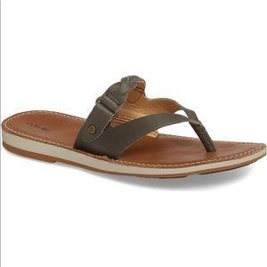 Olukai Women's Kahikolu Sandals - Slate / Tan
